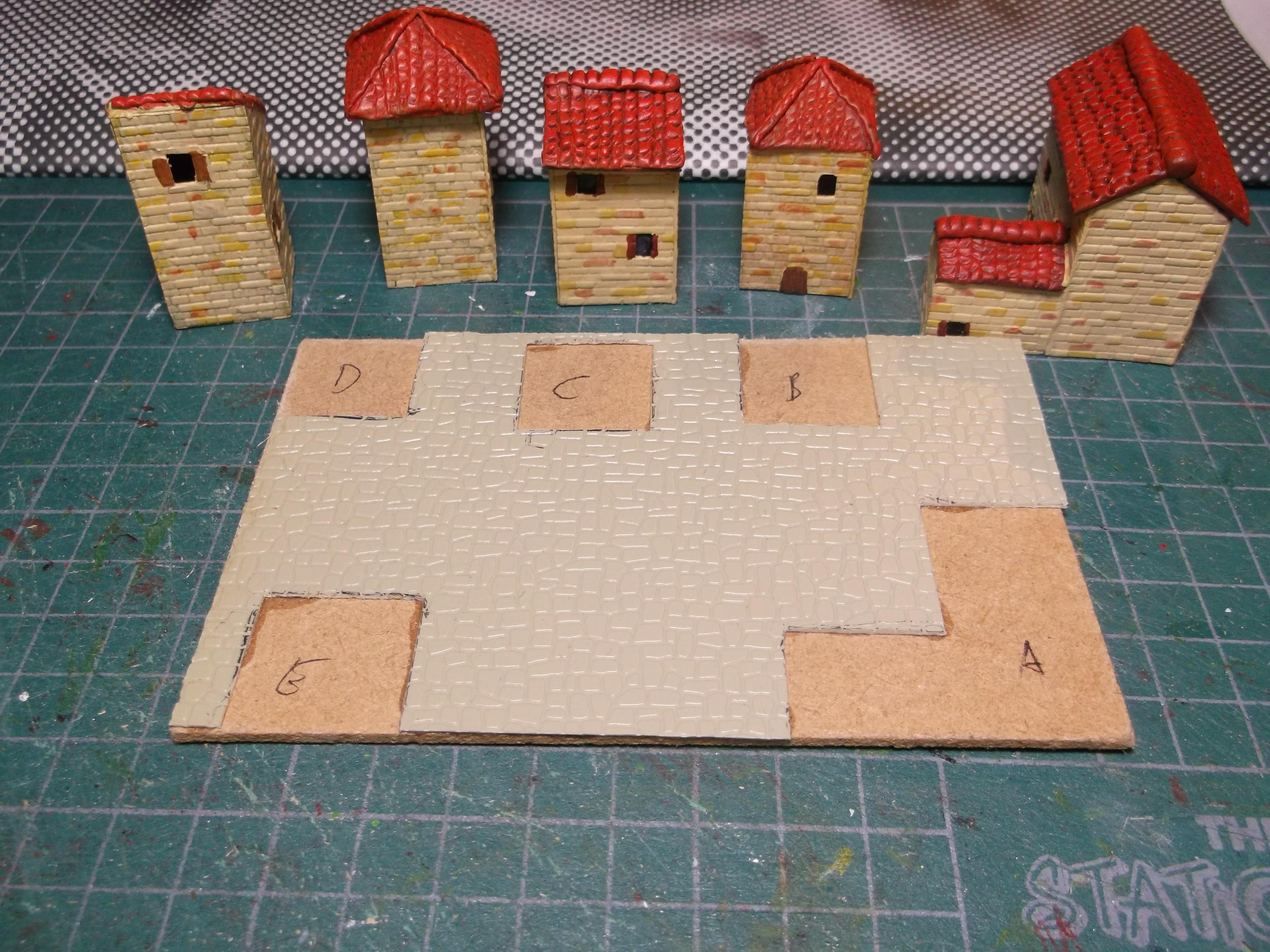 Italian Village pieces